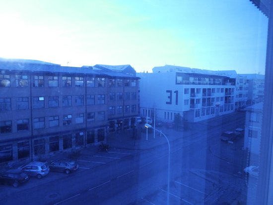 Fosshotel Lind: view from 419