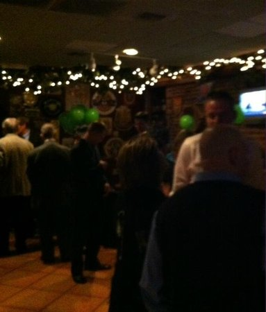Abbey Bar: A business after hours gathering.