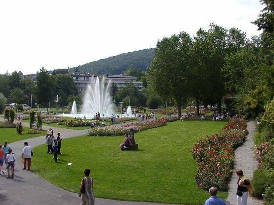 Hotel-Gasthof Waldeck: Bad Kissingen Rosengarten