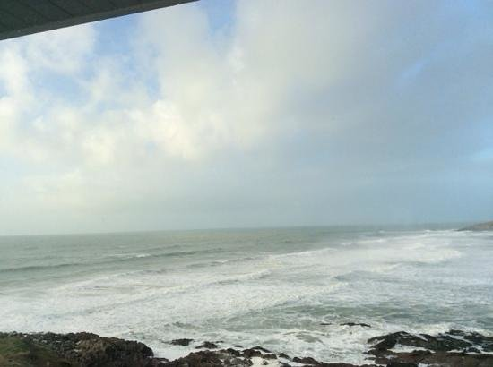 Fistral Beach Hotel and Spa: great view