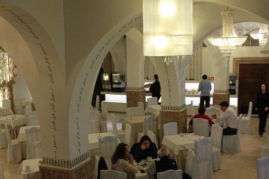 Carlos V Hotel : ресторан, в котором мы завтракали