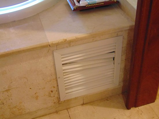 Grand Palladium Punta Cana Resort & Spa: Bath fan
