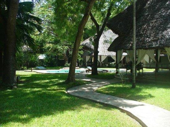 Kilili Baharini Resort & Spa: Parco