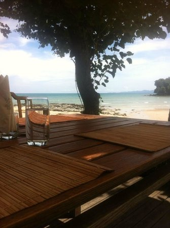 Nakamanda Resort & Spa: Beach-Bar & Restaurant