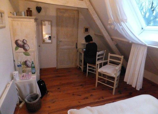 Le Manoir de Bois en Ardres : Hortense
