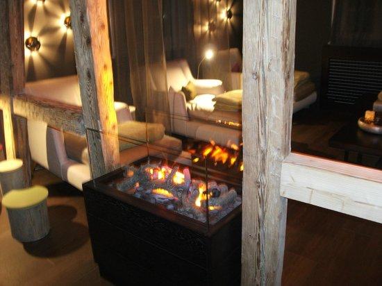 Hotel Ritter Durbach : Une des salles de repos magnifique