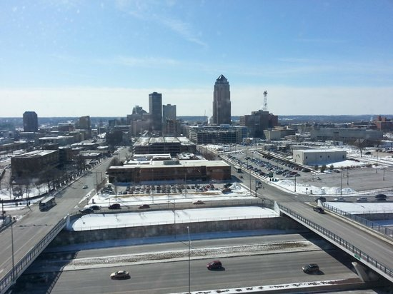 Holiday Inn Des Moines Downtown: View of Downtwon Des Moines from Tower