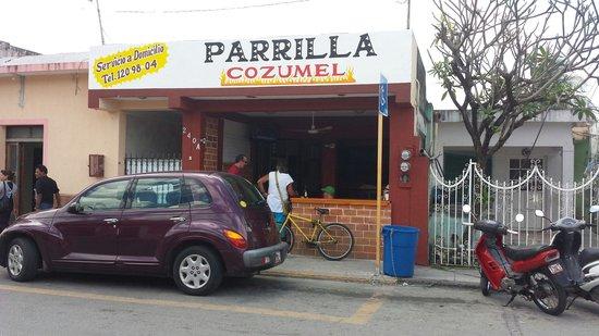 Parrilla Cozumel