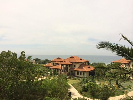 Fairmont Zimbali Resort : Indian Ocean fire from Room