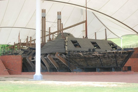 Vicksburg National Military Park: USS Cairo