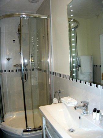 Fernhill Hotel: Shower room