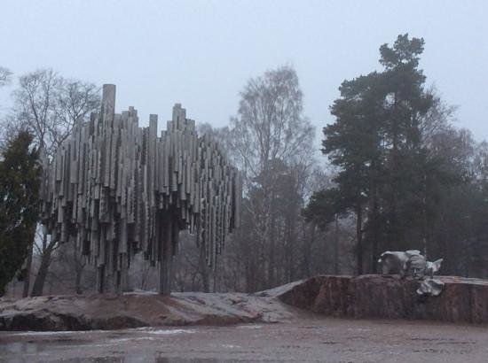 The Sibelius Monument: metallic tree