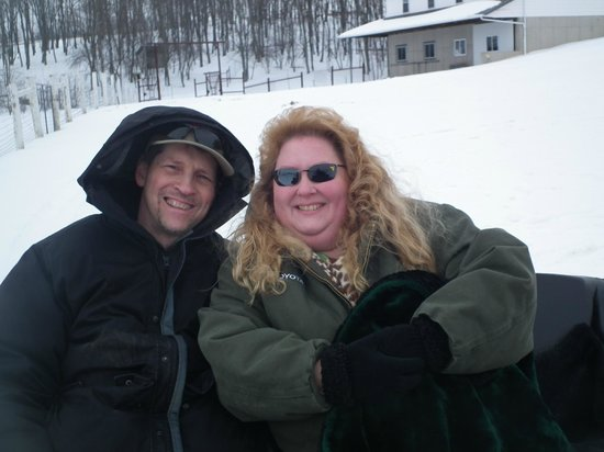 Donna's Premier Lodging : at the sleigh ride