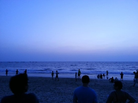 Estrela Do Mar Beach Resort : View from Restaurant