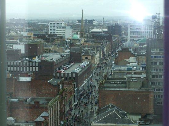 Premier Inn Glasgow City Centre Buchanan Galleries Hotel: from my window 17th floor