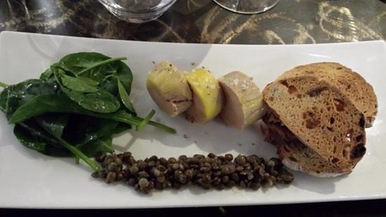 Restaurant Angelina : foie gras