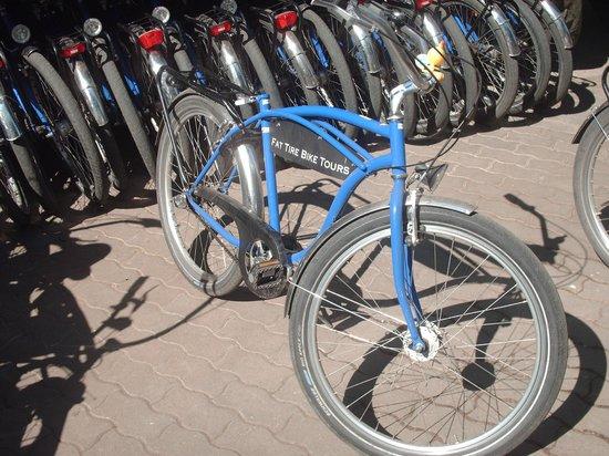 Fat Tire Tours Berlin: De fiets!