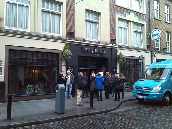 Temple Bar Hotel : the hotel