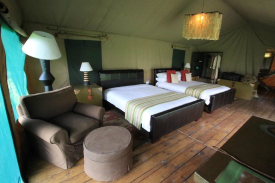 Lemala Ndutu Tented Camp: Yep, This is really a tent