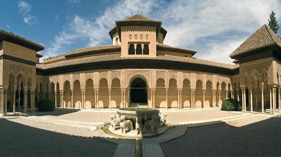 Granada a Pie : patio de los leones