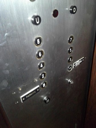 "The Avalon Hotel and Conference Center: Missing the ""Conference Rooms"" tag in elevator.  Hope you didn't book here for a conference."