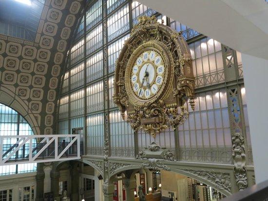 Musée d'Orsay: Relógio