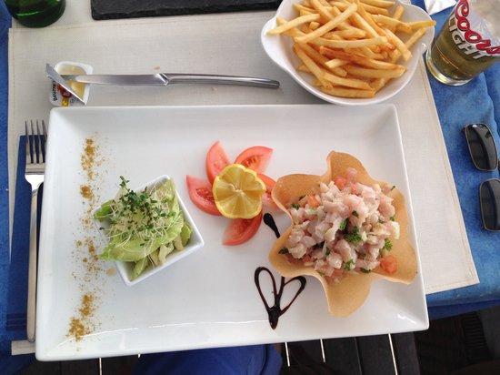 Restaurant le Soleil : Tuna tartare