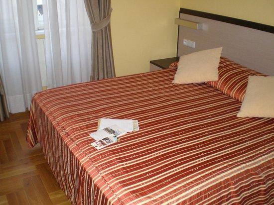 Hotel Praga 1 : camera matrimoniale