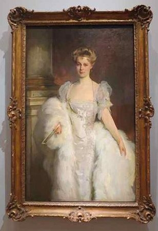 The Morgan Library & Museum : John Singer Sargent (1856-1925). Portrait of Mrs. J. P. Morgan Jr. (1906).
