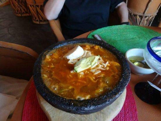 Restaurante Viva Mexico Tia Lupita: Vegetarian Molcajete