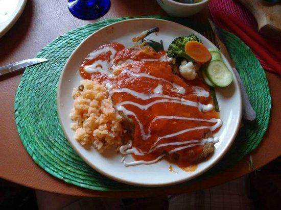 Restaurante Viva Mexico Tia Lupita: Chiles Rellenos