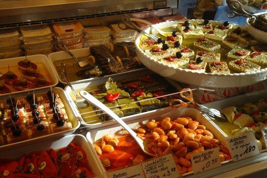 Markthalle: Leckere Salate