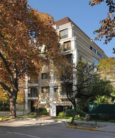 Park Plaza Apartments: Fachada