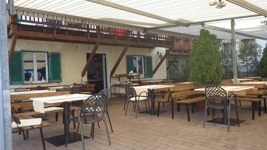 Mair am Ort: terrazza colazione e cena