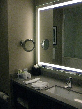 Holiday Inn Express Hotel & Suites Hollywood Hotel Walk of Fame : Bathroom