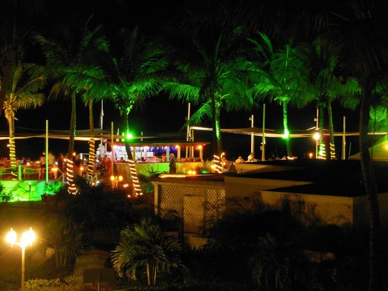 Alexandra Resort : View from our room at night