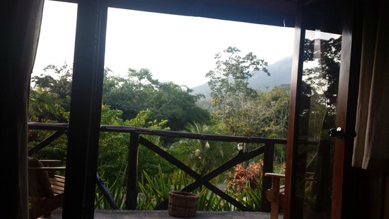Hotel Kokoro Arenal: View from our room