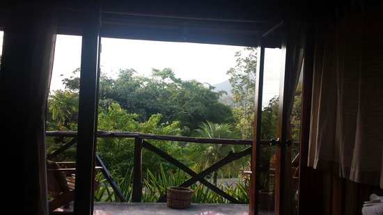 Hotel Kokoro Arenal: View from our suite
