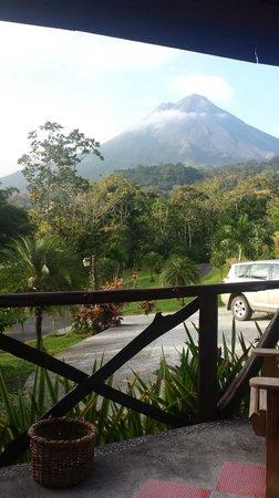 Hotel Kokoro Arenal: Volcano view
