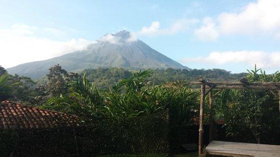 Hotel Kokoro Arenal: Volcano vue