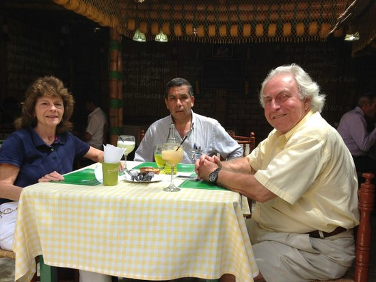 TaxiLimaPeru Private Tours: Lunch with Renato 2/3/2014