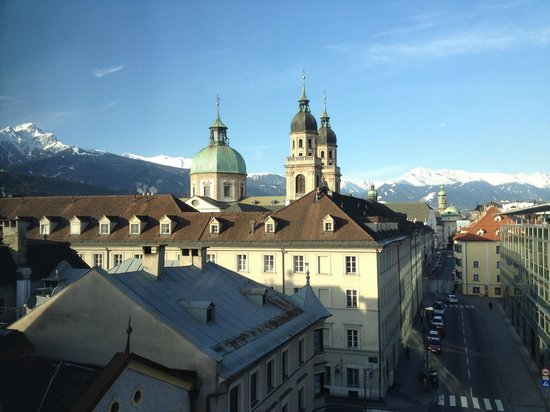 Hotel Schwarzer Adler : Room with a view