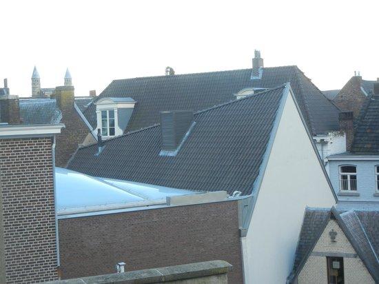 Haas op het Vrijthof: View from the fourth floor suite's balcony