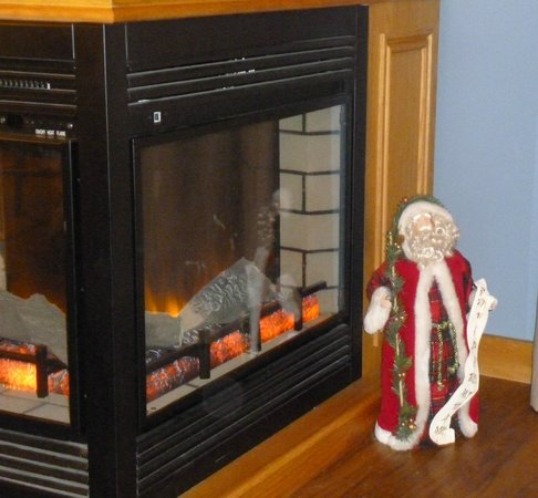 Boulder Cove Cottages: Just one of the special Christmas touches provided