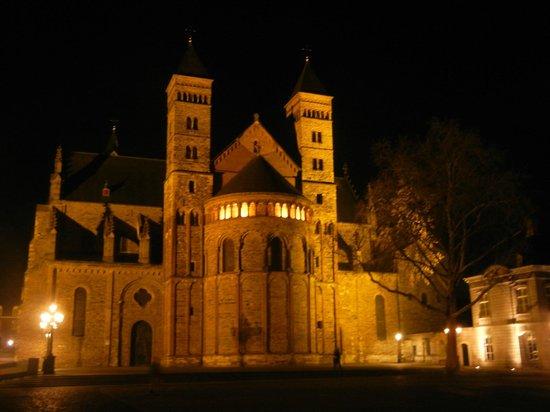 St. Servaas on the square next to Haas op het Vrijthof