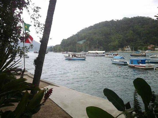 Pousada Jamanta : Vista pro lado da baía