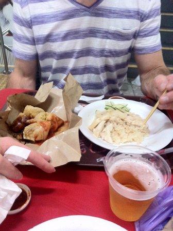 Wangz Hotel: Hawker/food court