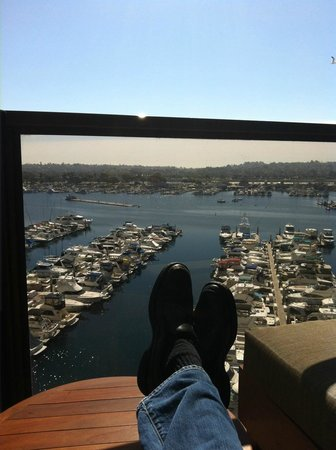 Hyatt Regency Mission Bay : View from the room patio