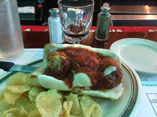 Iaria's Italian Restaurant: Meatball Sandwich