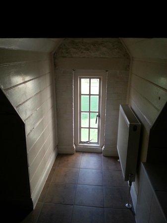 De Vere Horsley Estate: Standing in the shower!
